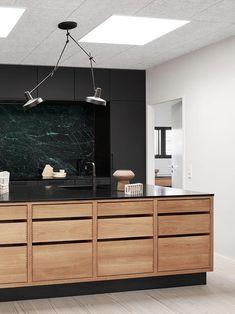 Interior Design Kitchen, Interior Decorating, Narrow House, New Kitchen, Kitchen Ideas, My Dream Home, Home Kitchens, Kitchen Remodel, Sweet Home