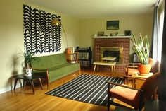 House Tour: Ecclectic Mid-Century Modern Family Home | Apartment Therapy