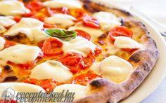 Pizza Margarita (Eredeti) recept fotóval