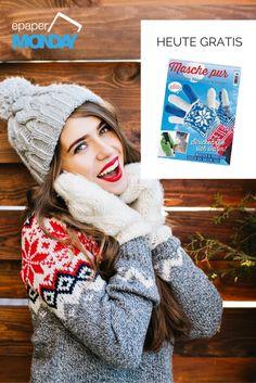 """Strick-Anleitungen für Anfänger: Handschuhe, Stulpen & Co. selber machen - eigenen sich auch super als Weihnachtsgeschenke! 🎄 🎁  💙 Heute könnt ihr die aktuelle """"Masche pur"""" gratis bestellen. Einfach hier den Code NADEL einlösen: https://www.united-kiosk.de/epaperMonday/"""