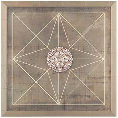 John Richard Geometric Blueprint I Artwork