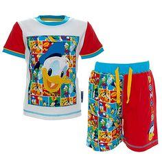 Ensemble pyjama à manches courtes Donald pour enfants - Disney Store