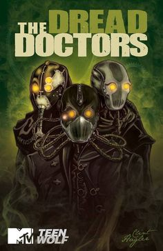 The Dread Doctors book cover fan art #DreadDoctors #TeenWolf #FanArt