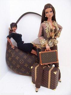 Immagine di barbie and Louis Vuitton