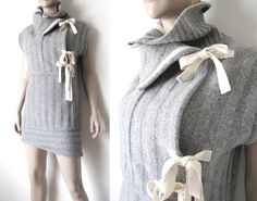 upcycled sweater dress