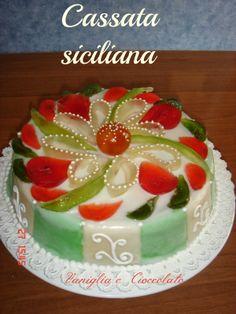 vaniglia e cioccolato: cassata siciliana