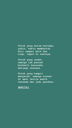 Tentang cerita Quotes Rindu, Quotes From Novels, Daily Quotes, Words Quotes, Life Quotes, Qoutes, Self Healing Quotes, Cinta Quotes, Quotes Galau