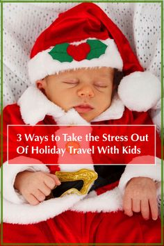 Holiday travel is stressful, and it's mores stressful with kids. Here's how to manage a Christmas away from home that's actually high on fun and relaxation and low on stress.
