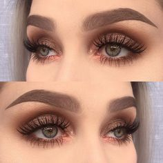 I used @makeupaddictioncosmetics eyeshadows dirty brown, amber, cocoa lace, velvet bronze and persian rose from the vintage palette | @dependcosmetic eyebrow pomade and eyebrowpencil triangular in taupe + false lashes in Rebecka ✨  #makeupartistsworldwide #makeupartist #mua #vegas_nay #wakeupandmakeup #fiercesociety #hudabeaty #dressyourface #depend #makeupmafia