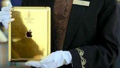 Un hotel de lux din Dubai oferă oaspeţilor săi un iPad de aur