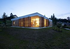 Wrapped in Wood: Contemporary Family Home in the Czech Republic