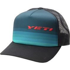 Yeti Cycles Yeti Ombre Foam Trucker Hat Yeti Cycles 8d09e14f927