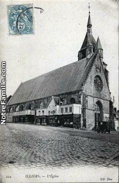 Cartes Postales Photos L'Église 28120 ILLIERS COMBRAY eure et loir (28)
