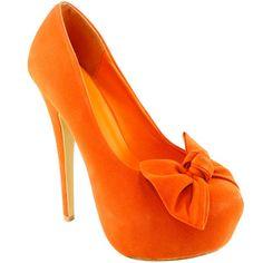 obnoxiously orange! i wonder if my girls would wear these! or somthing similar!....