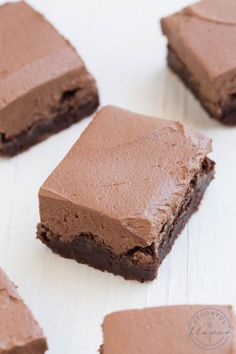 Flourless Mexican Brownies - Add a little cayenne pepper and cinnamon to your brownies and you have the best sweet and fudgy Mexican Brownies! They are gluten free and topped with a creamy chocolate frosting.