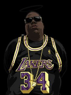 'Biggie Smalls' by Biggie Smalls, Christopher George, Arte Do Hip Hop, Tupac Art, Estilo Hip Hop, Trill Art, Rap Wallpaper, Dope Wallpaper Iphone, Rapper Art