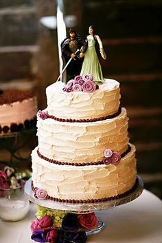 Lord of the Rings wedding cake   Wedding   Pinterest   Wedding ...