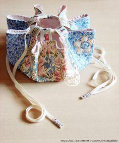 ОРИГИНАЛЬНАЯ СУМКА -МЕШОК. СОШЬЕТ ДАЖЕ РЕБЕНОК! (ORIGINAL BAG BAG. Sew even a child!) Picture tutorial, looks very easy.