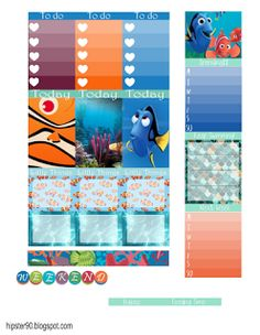 Hipster's World- Finding Nemo stickers!!! Mine! Mine!! Mine!!! Mine!!!!