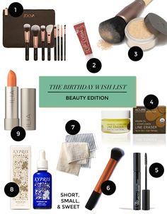 The birthday #beauty wish list