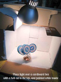 Fake Great Lighting- Make a Lightbox!