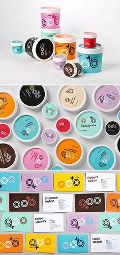 Beautiful colors. Must be bliss. Original organic Bliss packaging ice cream: