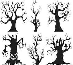 Image result for tree silhouette prop
