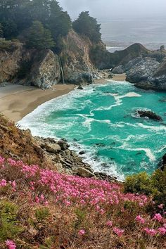 Big Sur, California, near the quaint town of Cambria along the central coast of California.