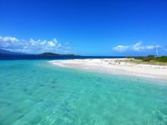 Icacos Island, Puerto Rico (also went here this summer, close to palomino , killed two birds with one stone!) so awesome ! makes you really appreciate life :)