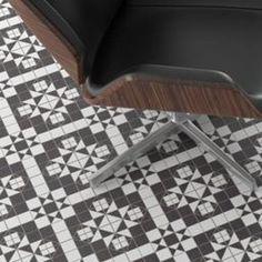 VICTORIAN GREY & WHITE CERAMIC FLOOR TILES 331x331 - Per m2 | gachj ...