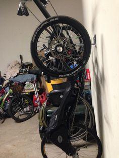 Trike Wall Hanger – RollerTrike Storage Shed Plans, Bike Storage, Garage Storage, Hitch Rack, Tandem Bicycle, Pedal Cars, Travel Tours, Wall Hanger, Touring
