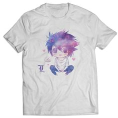 Death Note L Lawliet Chibi Cute T Shirts Mens T Shirt  https://www.artbetinas.com/collections/short-sleeve-mens-tshirt/products/ind_death_note_l_lawliet_chibi_cute_t_shirts_mens_t_shirt