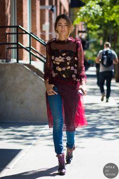 New York SS 2017 Street Style: Sofia Sanchez de Betak