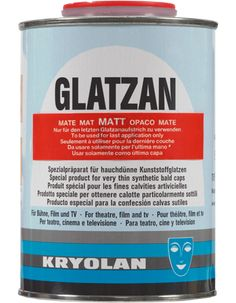 Glatzan matt 500 ml | Kryolan - Professional Make-up