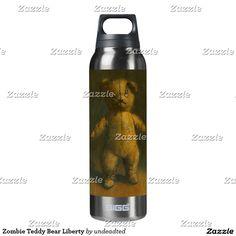 Zombie Teddy Bear Liberty