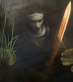 The Lady of the Lake by ~thejeffster on deviantART