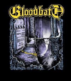 Bloodbath is the Swedish Super group with members of Opeth & Katatonia and are a homage to old school Death Metal like Entombed
