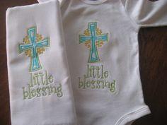 Baby Gift Burpcloth and onesie