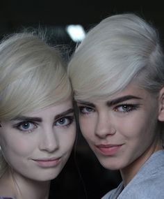 New York Fashion Week Backstage Beauty: Edie Sedgwick 2.0 At Marc Jacobs Spring 2013 Show (PHOTO)