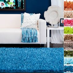 @Overstock.com - Hand-woven Burst Soft Shag (5x8) - Hand-woven of polyester, this shoelace shag rug features a no shedding, ultra plush pile. Available in a variety of color, this area rug will add style and comfort to any room.  http://www.overstock.com/Home-Garden/Hand-woven-Burst-Soft-Shag-5x8/6593470/product.html?CID=214117 CAD              287.98