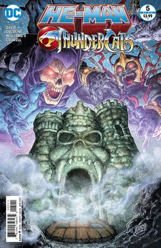 He-Man and the Thundercats (2016) Issue #5