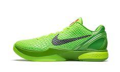 Nike Kobe, Nike Zoom Kobe, Nike Snkrs, Nike Air, Basketball Sneakers, Nike Basketball, Kobe Bryant, Kobe 6 Grinch, Grinch Shoes