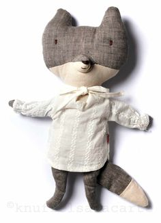 Maileg granny wolf doll (without hat) http://www.knuffelsalacarte.nl/wolf-grootmoeder--p-16832.html