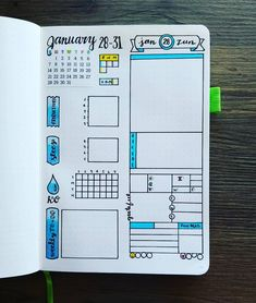 "21 Likes, 2 Comments - Micah (@my_blue_sky_design) on Instagram: ""January 2018 - Week 5 You know what's crazy?! These are the last few days of January! I can't…"""