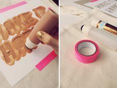 Tote Bag DIY | Ann-Marie Loves Paper