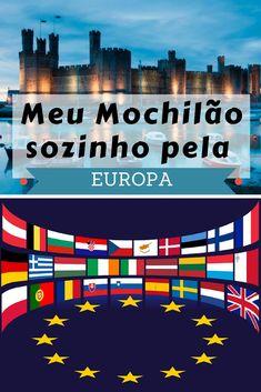 Saiba como foi meu mochilão de 60 dias sozinho pela Europa. Veja como planejar um mochilão pela Europa. Viajar sozinho para Europa.