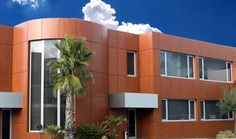 ALUCOIL, Worldwide Manufacturer specialist in production of aluminum composite panel for Architecture, Transport & Industry under brands larson and larcore Multi Story Building, Mansions, Architecture, House Styles, Offices, Wood, Portugal, Home Decor, Madness