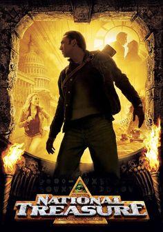 National Treasure - 2004 Enter the vision for. Action Type and Films Original is name National Treasure. Nicolas Cage, Disney Pixar, Walt Disney Movies, Hindi Movies, Tv Series Online, Movies Online, Breaking Bad, National Treasure Movie, Comedy