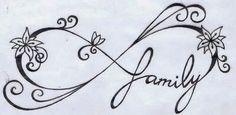 Ιnfinity symbol vine