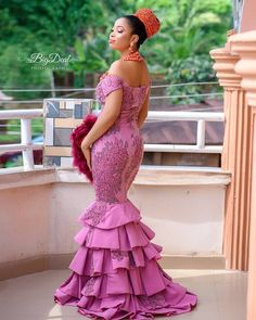 Dearie, it's too early to giveup,….yes i know how tiring it can be when planning wed Aso Ebi Lace Styles, Lace Dress Styles, African Lace Dresses, Latest African Fashion Dresses, African Dresses For Women, African Print Fashion, African Attire, African Clothes, African Wear
